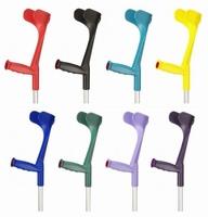 Krukken open manchet - kombi kleur