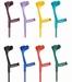 Krukken open manchet - uni kleur
