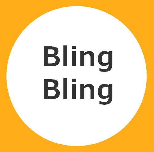 BLINGBLING-krukken
